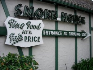Smoke House Sign